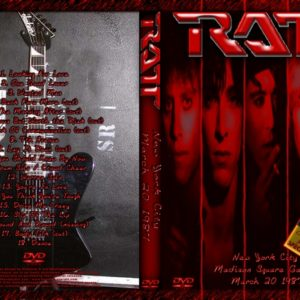 Ratt 1987-03-20 Madison Square Garden, New York, NY DVD
