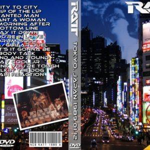 Ratt 1989-01-12 Tokyo, Japan DVD
