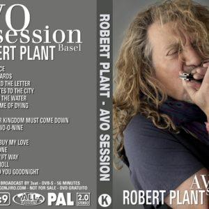 Robert Plant 2010-10-23 AVO Sessions, Basel DVD