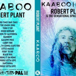 Robert Plant & the Sensational Space Shifters 2018-09-16 KAABOO, Del Mar, CA DVD