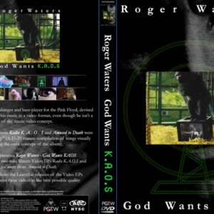 Roger Waters 1987-1988 God Wants KAOS Video EP DVD