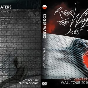 Roger Waters 2010-2011 The Wall Tour Electronic Press Kit DVD