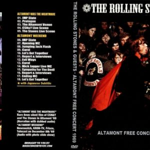 Rolling Stones 1969-12-06 Altamont Free Concert, Livermore, CA DVD