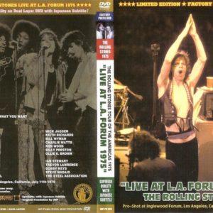 Rolling Stones 1975-07-11 L.A. Forum, Inglewood, CA DVD