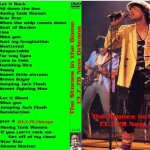 Rolling Stones 1978-07-13 The Stones in the Dome, New Orleans, LA DVD
