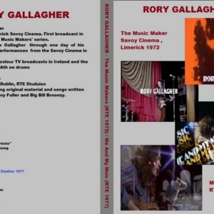Rory Gallagher 1972-1977 RTE Music Maker + Me And My Music DVD