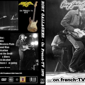 Rory Gallagher 1975 French TV DVD