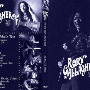 Rory Gallagher 1976-03-02 Old Grey Whistle Test, London, UK DVD