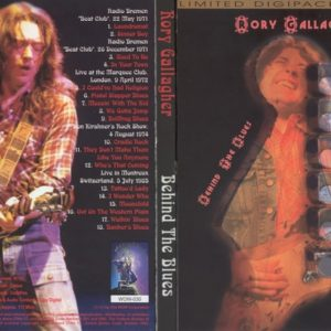 Rory Gallagher Behind The Blues DVD