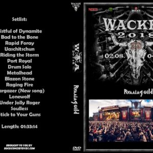 Running Wild 2018-08-03 Wacken, Germany DVD
