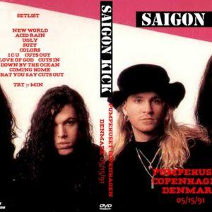 Saigon Kick 1991-05-15 Pumpehuset, Copenhagen, Denmark DVD