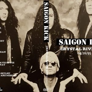 Saigon Kick 1995-04-26 Crystal River, MN DVD