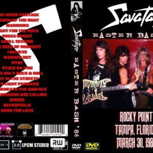 Savatage 1986-03-30 Tampa, FL DVD