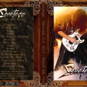 Savatage 1988-03-04 Riverside, CA DVD
