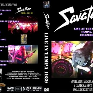 Savatage 1989-12-06 Rock-It Club, Tampa, FL DVD