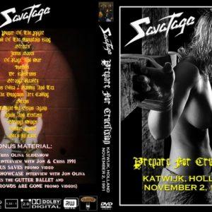 Savatage 1991-11-02 Katwijk, Holland DVD