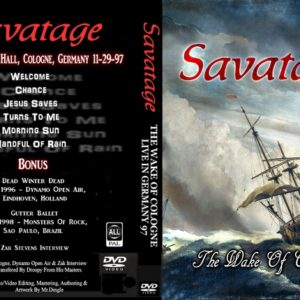 Savatage 1997-11-29 Cologne, Germany DVD