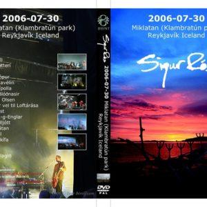 Sigur Ros 2006-07-30 Reykjavik, Iceland DVD