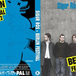 Sigur Ros 2012-09-07 Berlin, Germany DVD
