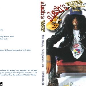 Slash's Blues Ball 1998-01-31 The Roxy, Los Angeles, CA DVD