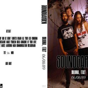 Soundgarden 1989-06-08 Bologna, Italy DVD