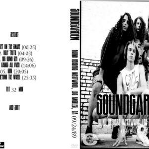 Soundgarden 1989-09-24 Rhino Records Westwood, Los Angeles, CA DVD
