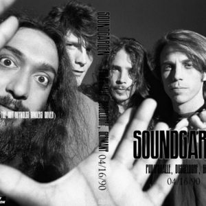 Soundgarden 1990-04-16 Philipshalle, Dusseldorf, Germany DVD