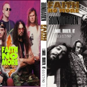 Soundgarden & Faith No More 1990-03-17 L'Amours, Brooklyn, NY DVD