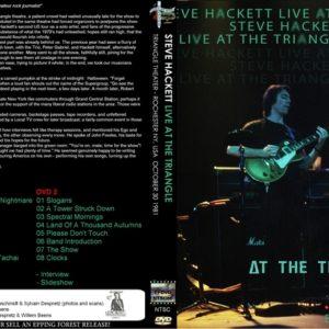 Steve Hackett 1981-10-30 Rochester, NY 2 DVD