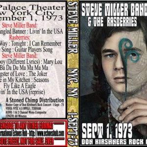 Steve Miller 1973-09-01 Don Kirshners Rock Concert DVD