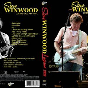 Steve Winwood 2013 Lugano Jazz Festival DVD