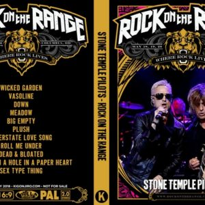 Stone Temple Pilots 2018 Rock On The Range DVD