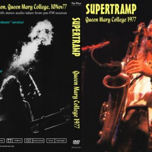 Supertramp 1977-11-10 Queen Mary College DVD