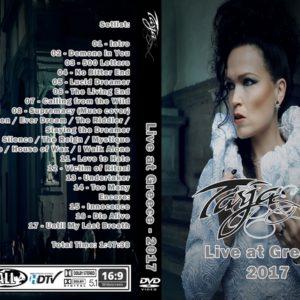 Tarja Turnen 2017 Greece DVD