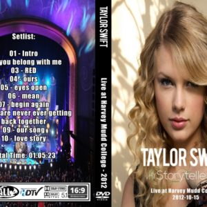 Taylor Swift 2012-10-15 Harvey Mudd Collage DVD