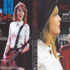 Taylor Swift 2014-06-01 The Red Tour, Saitama Super Arena, Tokyo, Japan DVD