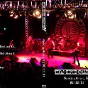 Texas Hippie Coalition 2013-09-28 Bowling Green, KY DVD