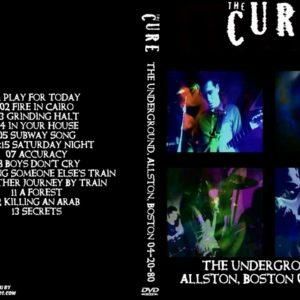 The Cure 1980-04-20 The Underground, Allston, Boston, MA DVD