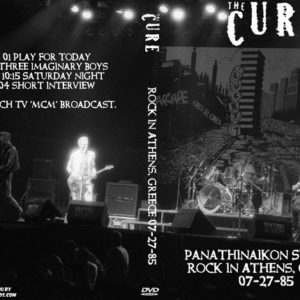The Cure 1985-07-27 Rock in Athens, Greece DVD