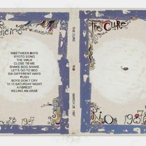 The Cure 1987-03-28 Rio, Brazil DVD
