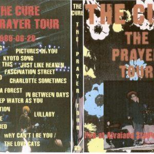 The Cure 1989-06-28 Prayer Tour, Lisbon, Portugal DVD