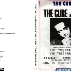The Cure 1989-07-08-09 Palais Omnisports Paris Bercy, France 3 DVD
