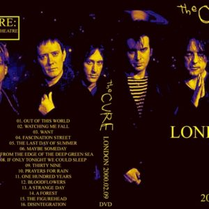 The Cure 2000-02-09 London, England DVD
