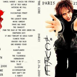 The Cure 2000-04-25 Paris, France DVD
