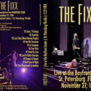 The Fixx 1984-11-27 St. Petersburg, FL DVD