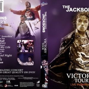 The Jacksons 1984-07-01 Arrowhead Stadium, Kansas City, KS DVD