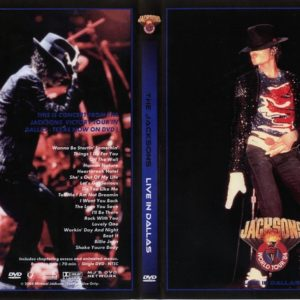 The Jacksons 1984-07-14 Texas Stadium, Dallas, TX DVD