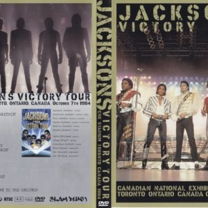 The Jacksons 1984-10-07 Toronto, Canada DVD