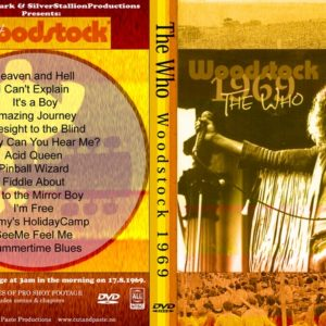 The Who 1969-08-17 Woodstock DVD