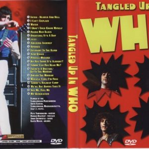 The Who 1970-07-07 Tanglewood, MS DVD